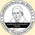 Qualitätssiegel zertifizierte Homöopathie Heilpraktikerin