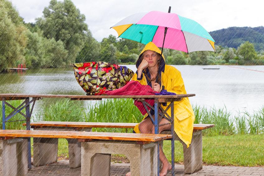 Blasenentzündung bei nassem Wetter