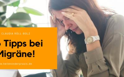 3 Tipps bei Migräne – Heilpraktikerin in Karlsruhe