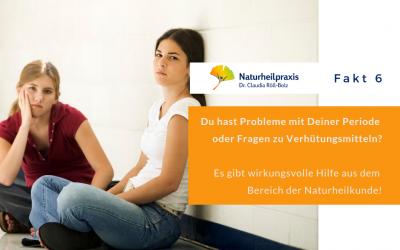 Unregelmäßige Periode – Heilpraktikerin in Karlsruhe
