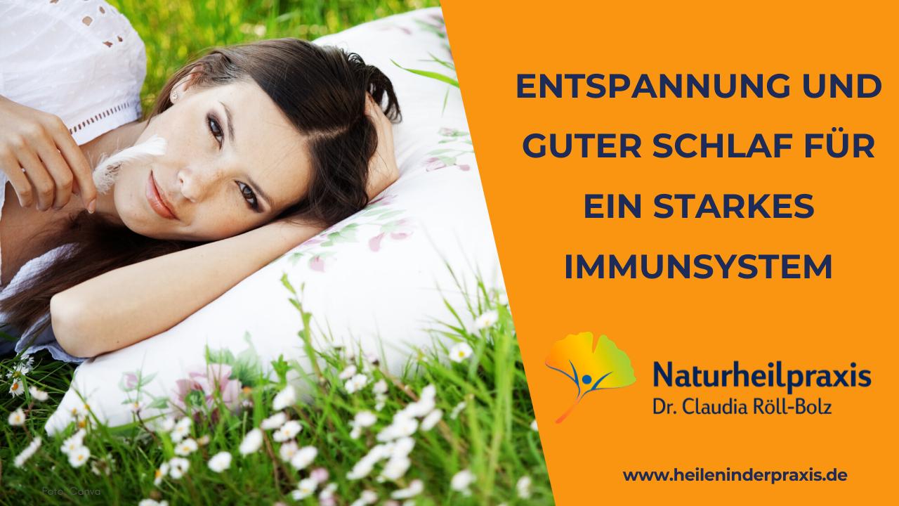 Immunsystem-Enspannung-Schlaf-
