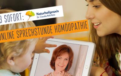 Online Sprechstunde Homöopathie