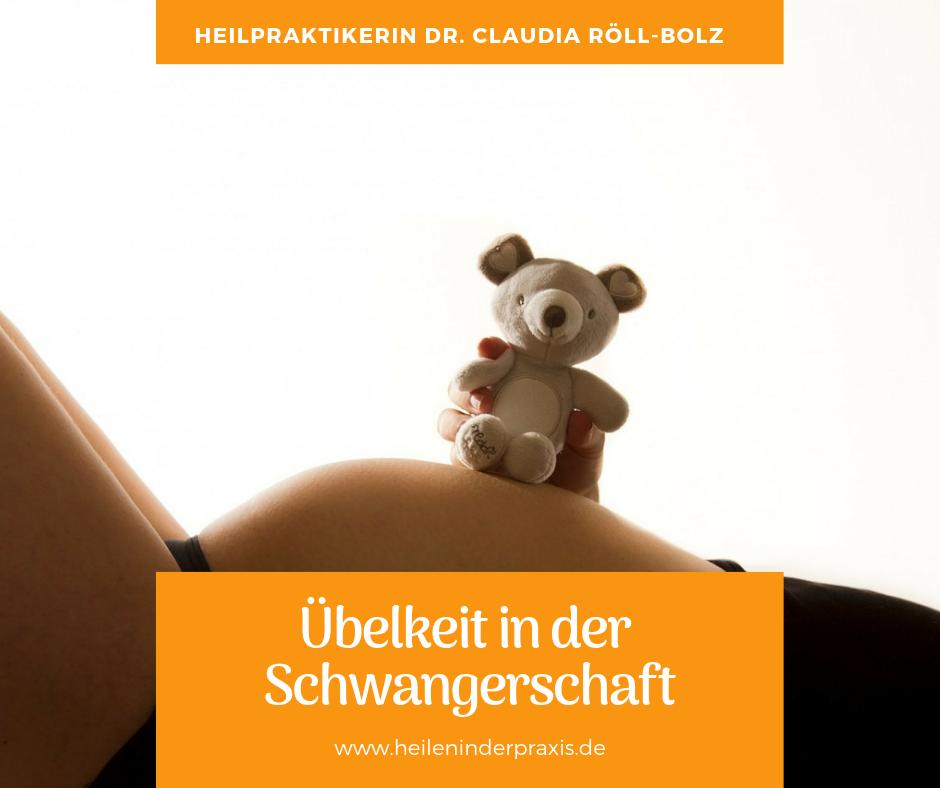 übelkeit schwangerschaft tipps heilpraktikerin röll-bolz in karlsruhe